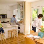 Фото Интерьер кухни-столовой - 22052017 - пример - 049 Kitchen-dining room interior