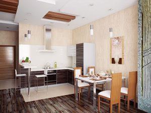 Фото Интерьер кухни-столовой - 22052017 - пример - 053 Kitchen-dining room interior