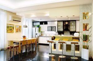 Фото Интерьер кухни-столовой - 22052017 - пример - 055 Kitchen-dining room interior 2342