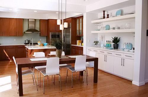 Фото Интерьер кухни-столовой - 22052017 - пример - 063 Kitchen-dining room interior 242