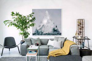 фото примеры скандинавского интерьера - вариант № 005
