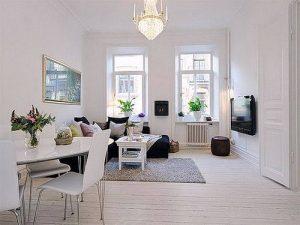 фото примеры скандинавского интерьера - вариант № 012