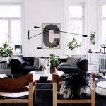 фото примеры скандинавского интерьера - вариант № 015