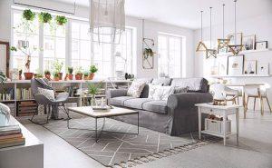 фото примеры скандинавского интерьера - вариант № 039
