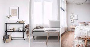 фото примеры скандинавского интерьера - вариант № 047