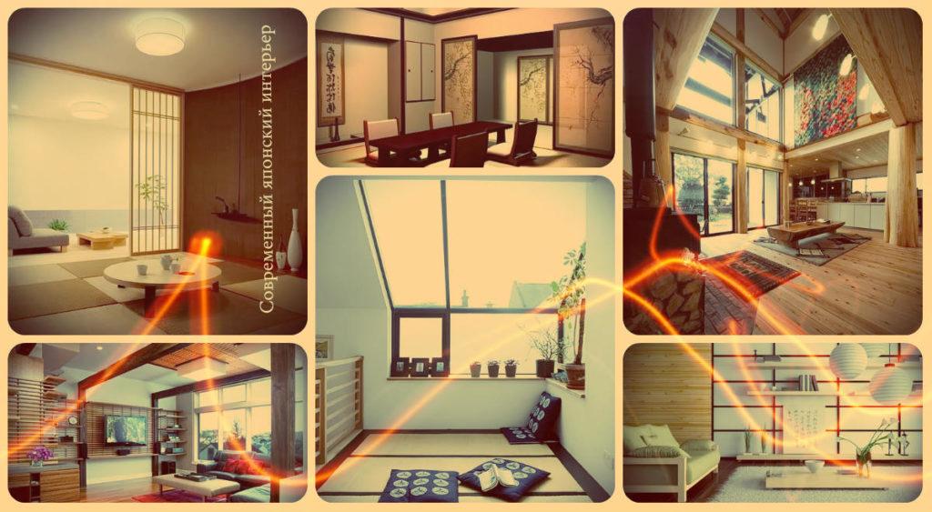 Современный японский интерьер - варианты готовых идей на фото