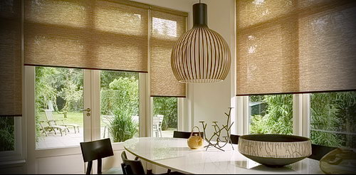 Фото Жалюзи в интерьере кухни - 04062017 - пример - 002 Blinds in the interior of the kitch