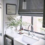 Фото Жалюзи в интерьере кухни - 04062017 - пример - 037 Blinds in the interior of the kitch