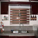 Фото Жалюзи в интерьере кухни - 04062017 - пример - 055 Blinds in the interior of the kitch