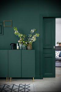 Фото Зелёный акцент в интерьере - 02062017 - пример - 003 Green accent in the interior