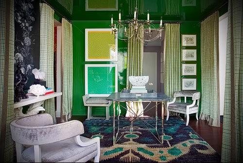 Фото Зелёный акцент в интерьере - 02062017 - пример - 017 Green accent in the interior
