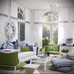 Фото Зелёный акцент в интерьере - 02062017 - пример - 024 Green accent in the interior