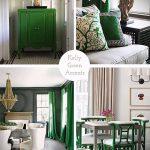 Фото Зелёный акцент в интерьере - 02062017 - пример - 028 Green accent in the interior