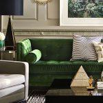 Фото Зелёный акцент в интерьере - 02062017 - пример - 035 Green accent in the interior