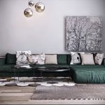 Фото Зелёный акцент в интерьере - 02062017 - пример - 050 Green accent in the interior