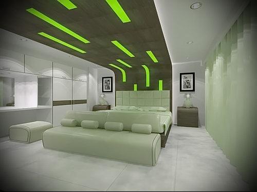 Фото Зелёный акцент в интерьере - 02062017 - пример - 053 Green accent in the interior