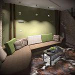 Фото Зелёный акцент в интерьере - 02062017 - пример - 076 Green accent in the interior