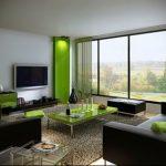 Фото Зелёный акцент в интерьере - 02062017 - пример - 078 Green accent in the interior