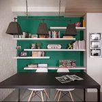 Фото Зелёный акцент в интерьере - 02062017 - пример - 079 Green accent in the interior