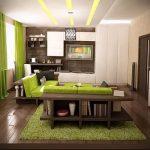 Фото Зелёный акцент в интерьере - 02062017 - пример - 080 Green accent in the interior