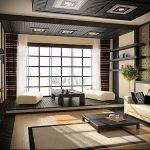Фото Интерьер и дизайн японской гостиной - 02062017 - пример - 001 Japane living room