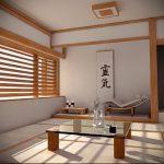 Фото Интерьер и дизайн японской гостиной - 02062017 - пример - 002 Japane living room