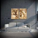 Фото Искусство живописи в интерьере - 12062017 - пример - 004 painting in the interior