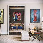 Фото Искусство живописи в интерьере - 12062017 - пример - 025 painting in the interior