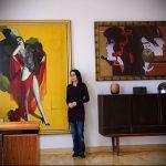 Фото Искусство живописи в интерьере - 12062017 - пример - 029 painting in the interior