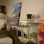 Фото Искусство живописи в интерьере - 12062017 - пример - 030 painting in the interior