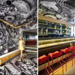 Фото Что украшает интерьер ресторана - 04062017 - пример - 071 interior of the restaurant.com%image16%koi-japanese-restaurant-decorated-with-yakuza-tattoos-102