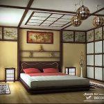 Фото Шторы в японском стиле в интерьере - 16062017 - пример - 004 Curtains in Japanese