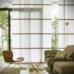 Фото Шторы в японском стиле в интерьере - 16062017 - пример - 021 Curtains in Japanese