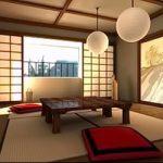 Фото Шторы в японском стиле в интерьере - 16062017 - пример - 072 Curtains in Japanese