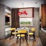 Фото Яркие акценты в интерьере кухни - 02062017 - пример - 007 interior of the kitchen