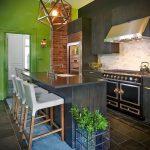 Фото Яркие акценты в интерьере кухни - 02062017 - пример - 017 interior of the kitchen.1707