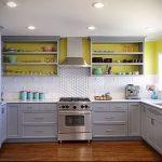 Фото Яркие акценты в интерьере кухни - 02062017 - пример - 021 interior of the kitchen