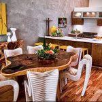 Фото Яркие акценты в интерьере кухни - 02062017 - пример - 026 interior of the kitchen
