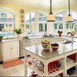 Фото Яркие акценты в интерьере кухни - 02062017 - пример - 030 interior of the kitchen