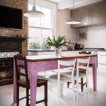 Фото Яркие акценты в интерьере кухни - 02062017 - пример - 040 interior of the kitchen