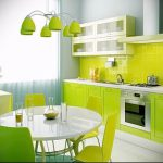 Фото Яркие акценты в интерьере кухни - 02062017 - пример - 041 interior of the kitchen 23422