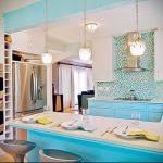 Фото Яркие акценты в интерьере кухни - 02062017 - пример - 046 interior of the kitchen
