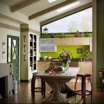 Фото Яркие акценты в интерьере кухни - 02062017 - пример - 048 interior of the kitchen.960