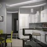 Фото Яркие акценты в интерьере кухни - 02062017 - пример - 053 interior of the kitchen