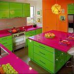 Фото Яркие акценты в интерьере кухни - 02062017 - пример - 062 interior of the kitchen