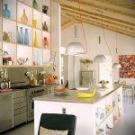 Фото Яркие акценты в интерьере кухни - 02062017 - пример - 074 interior of the kitchen