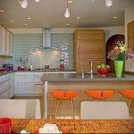 Фото Яркие акценты в интерьере кухни - 02062017 - пример - 077 interior of the kitchen