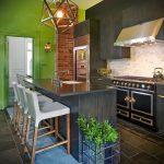 Фото Яркие акценты в интерьере кухни - 02062017 - пример - 083 interior of the kitchen.1707