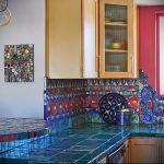 Фото Яркие акценты в интерьере кухни - 02062017 - пример - 084 interior of the kitchen.960