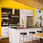 Фото Яркие акценты в интерьере кухни - 02062017 - пример - 098 interior of the kitchen